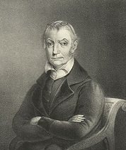Engraved portrait of Eliza Jumel's second husband, Aaron Burr.
