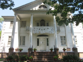 Madame Eliza Jumel's home, the Morris-Jumel Mansion.